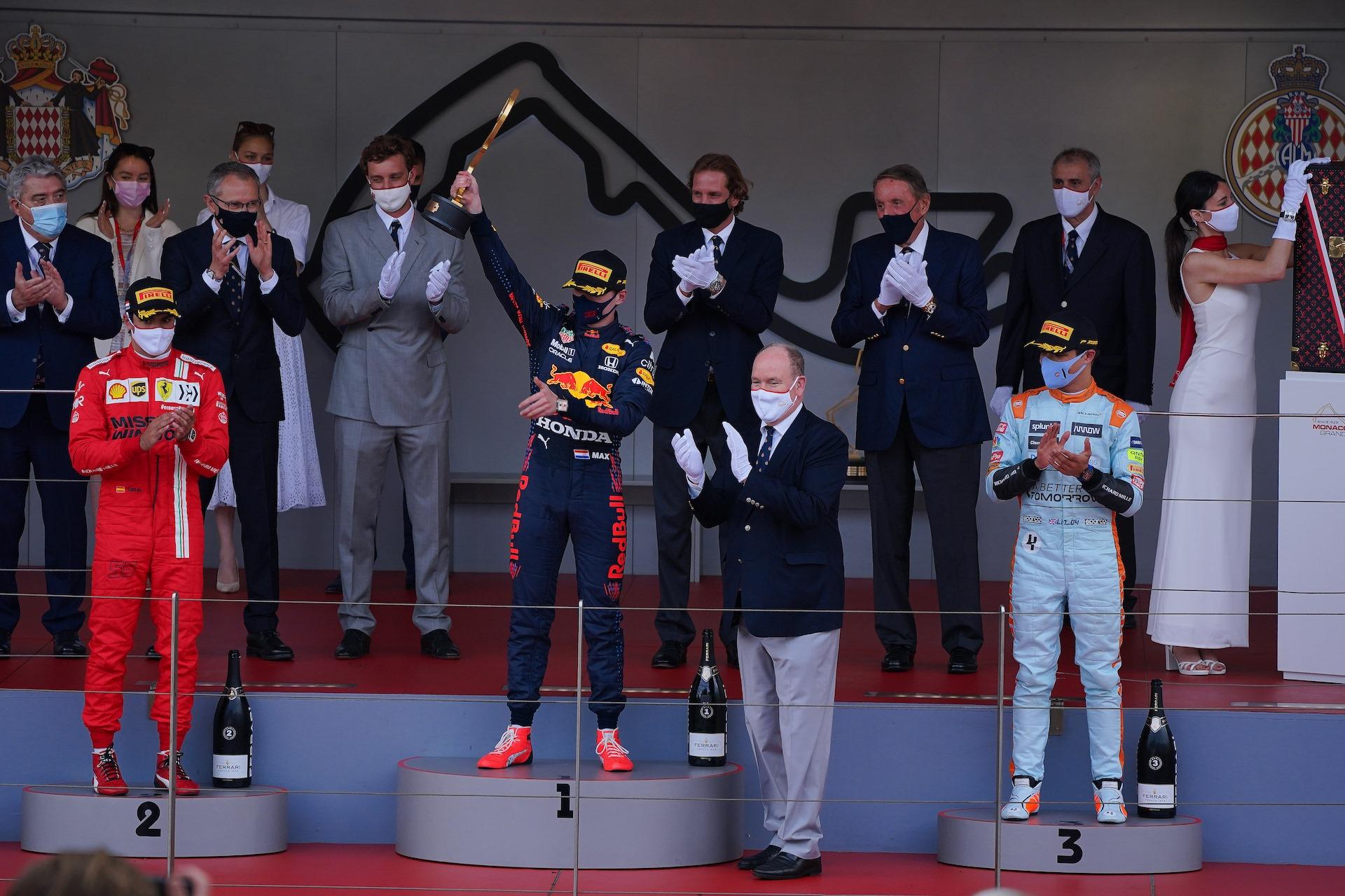 Premiazione F1 Gran Premio Monaco 2021 - QE MAGAZINE